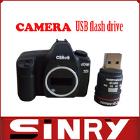Plastic Camera 8GB 16g usb flash drive retail wholesale Free shipping