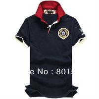 Kingtime Freeshipping Hot Sell men's t-shirt polo Short Cotton Summer wear Menswear size: M L XL KTF11 Asian size