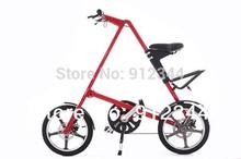 "Free Shipping-Hot selling 16"" folding bike with UPGRADED aluminum alloy wheels/disc brake, free carry bag, free tool bag(China (Mainland))"