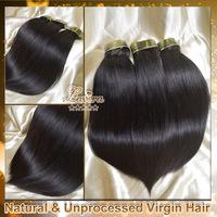 brazilian virgin straight hair extensions 4pcs lot human hair weave Lavera hair products