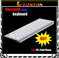 Free shipping Bluetooth Wireless Russian / English Cheaper Keyboard for PC Macbook Mac ipad 2 ,3, Mini pad ,for iphone