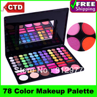 Cheap Beauty Product Series-- 3#P78, 78 Color Eyeshadow / Cheek Blusher /Lip Gloss Makeup Set