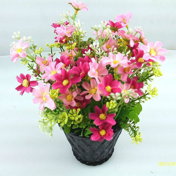 Simulation Orchid Chrysanthemum Daisy Home Decor Artificial Flowers Home Decoration