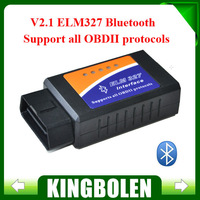 2014 Newest ELM327 Bluetooth V2.1 Interface Works On Android Torque Elm 327 Bluetooth OBD2/OBD II Car Diagnostic Scanner