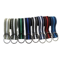 Mens Belt  Alloy D-ring Fashion Belt  Stripe Muti-Color Woven High Quality  Young Men's Length 110cm