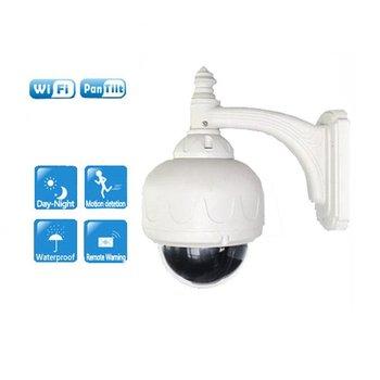 720P Wifi PTZ outdoor dome ip camera