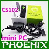 free shipping!!  CS802 Google TV box Android 4.0 Mini PC Thumb Drive (Smart Mini Google HD Player mk802 )