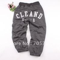Retail Free shipping Autumn & Winter brand boy's pants extra thick,children pants,kids pants,children trousers