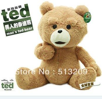 "CE Certificaiton with New 23"" Teddy Bear Ted The Movie X R Plush Dolls ted bear Men's Stuffed Plush toys bear High-quality 60cm"