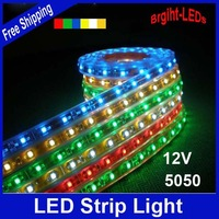 holiday sale Waterproof LED Strip Car Light Strip SMD5050 LED 5M DC12V Flexible Light saving light