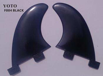 F004B-FCS GL Surfboard fins set Black  Without FCS logo Superior nylon materials