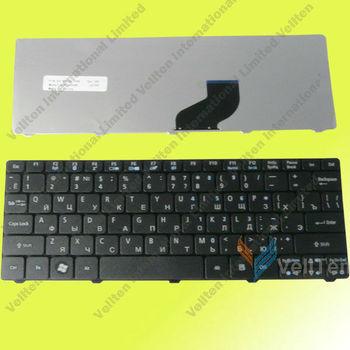 Laptop Keyboard for Acer Aspire One D255 D260 D270 D257 D255e 532h 532 522 521 ZH9 eM355 NAV70 AO521 notebook Black RUSSIAN RU