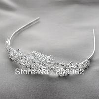 Free Shipping 3pcs/ lot Fashion Rhinestone Hair Accessories For Woman Wedding Crystal Tiara Princess Crown Hair Jewelry