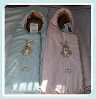 Free Shipping 100% Newborn sleeping bag / baby the Flax sleeping bag thickened hold / candle package 3 colors wholesale +retails