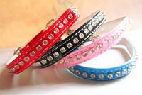 fashion cat dog rhinestone collar pet products free shipping