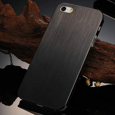 3mm Brushed Aluminum Hard case for iphone 5 5S 5G Luxury Thin Back ...