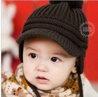 New 2015 Spring Children's Knitted Hats Boys Caps For Children Accessories Woolen Baby Girls Autumn Hat Beanie Drop Shopping