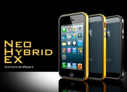 Newest SGP Neo Hybrid EX Vivid Series (like 2S Snow Series before)For IPhone 5 bumper+Original Box Free Shipping wholesales(China (Mainland))