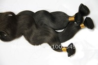 "Body Wave #1b #2 4bundles/lot 14""-20"" 5A Virgin Brazilian hair extensions 100% Remy Hair Free Shipping"