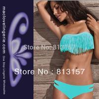 Free Shipping!! ML1020 2014 Fashion Brand Lady Sexy Bikini Wild And Sexy High Quality Sexy Lingerie Bikini Blue Swimwear