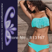 Free Shipping!! ML1020 2013 Fashion Brand Lady Sexy Bikini Wild And Sexy High Quality Sexy Lingerie Bikini Blue Swimwear