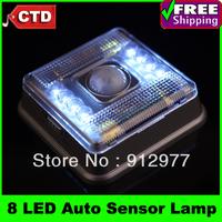 8 LED Light Lamp PIR Auto Sensor Motion Detector, Motion-sensor lights