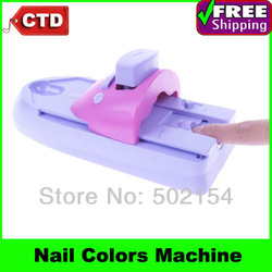 Free Shipping By CPAM DIY Nail Art Printer Pattern Polish Printing Machine Nail Art Stamping Machine(China (Mainland))