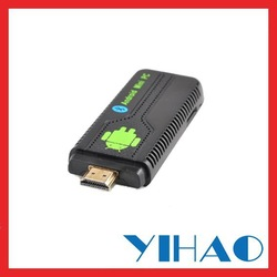 free shipping Android4.1 RK3066 Dual Core tv /Dongle/Stick UG007II 1GB/8GB internet tv receiver box ug007 media game player(China (Mainland))