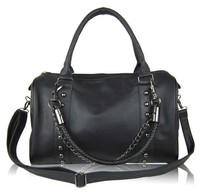 hx73 Personalized New Fashion Brand Design Women Noble PU Leopard Dot Handbag Tote Clutch bag Shoulder Bag, 2012 FREE Shipping