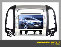 car dvd for NEW Hyundai santa fe 2012 specail GPS navigation system  7 inch touch screen free shipping