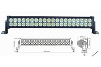 "High Power 8500 lumens 22"" 120W Led Work Light Bar Offroad SUV Truck Mine Lamps"