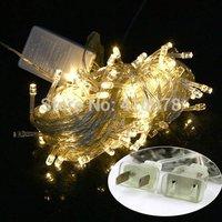 Wholesale 10M 100 LED Light String lighting Fairy Party Wedding String Light Garland Christmas Xmas decoration With Tail Plug
