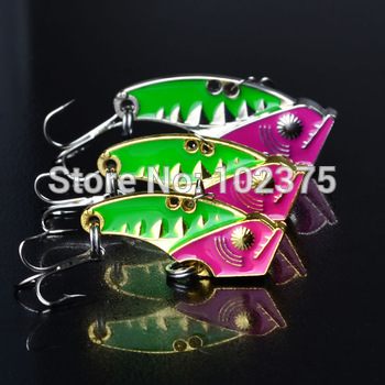 Only for promotion ! HOT!Metal Lure,3PCS 3.5cm/3.2g Fishing Lure Spoon Metal Lures for Fishing hard bait Free Shipping