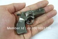 Free Shipping 30pcs/ lot Gun USB 2.0 Flash Drive 1GB/2GB/4GB/8GB/16GB/32GB