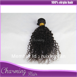 Princess virgin hair: grade aaaaa virgin brazilian hair wet and wavy virgin brazilian hair brazilian virgin curly hair deep curl(China (Mainland))