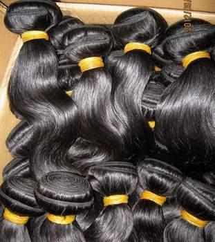 Bulk price! 100% Cheaper 6A Indian body wave human virgin hair 10pcs/lot(1kg) African&American Fashion