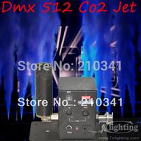 Best selling+Free shipping 2pcs/lot CO2 jet machine,CO2 jet effect by DMX 512,(In stock)CO2 jet