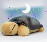 Music Sleep Turtle lamp,  Tortoise light,  Colorful Light,  Star Light, night light