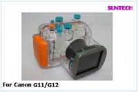 Free shipping FEDEX Universal underwater camera covers waterproof diving case for Canon G11/G12