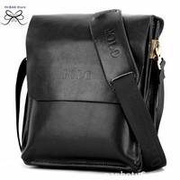 Hot !!  the brand desinger polo popular men's business high quality men genuine leather messenger  bag natural leather briefcase