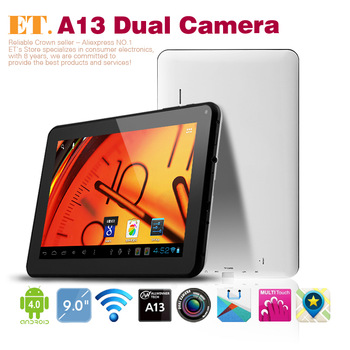 Low Price 9inch tablet PC Dual Camera Android 4.0.4 OS 512MB RAM 8GB ROM Multi Point Touch capacitive screen