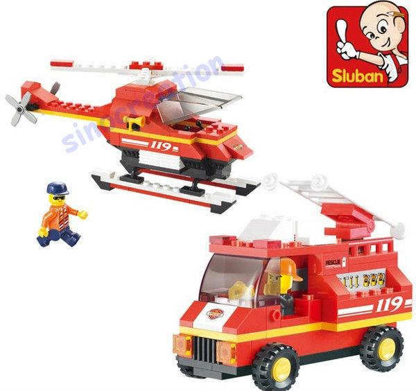 комплект пожарная машина серии