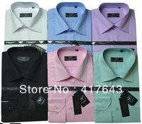 2013 Factory Wholesale Men New Style Fashion Casual  Cotton Men Dress Shirts Long Sleeves Down Collar Shirts New Cotton JD-AM566