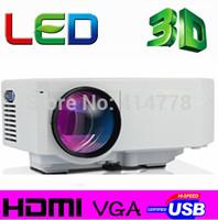 Great Mini home projector! Supprot HDMI LED Portable Pico  Digital Video Game pocket Projectors Multimedia player VGA AV USB SD