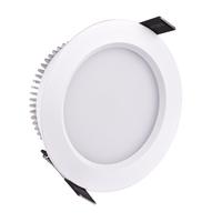 7W LED Downlight 800LM 3200K 6000K SMD5730 Aluminum Frame for bathroom kitchen living room LED light lamp 7w white cover  HTD687