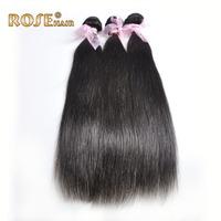 "3pcs/lot 5A peruvian virgin hair natural straight human hair extension unprocessed hair,12""-30"" , shipping by DHL"