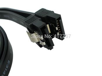 Free Shipping 10 pcs SATA 3 III 3.0 7-pin 6Gb/s Data HDD Hard Drive Disks Blue Colour Cable