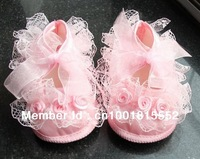 In Stock! Baby shoes, Girls princess pre-walker shoes toddler lace shoes infant girls beauty shoes Retail