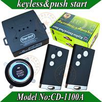 NEW RFID card car alarm system,PKE car alarm,RFID  smart key,lock or unlock automatically,remote start,push start button