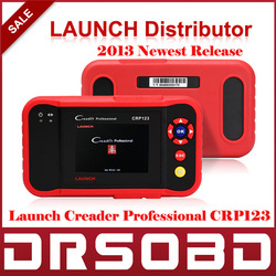 [New Arrival in April] 2013 LAUNCH Creader Professional CRP123 Original Auto Code Reader Scanner LAUNCH CRP 123 Internet Update(China (Mainland))